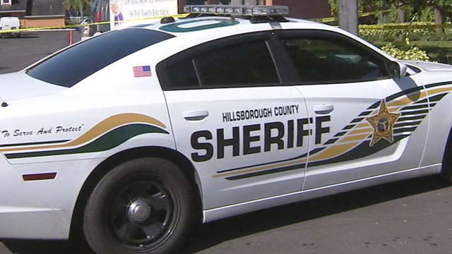 Hillsborough County Sheriff car
